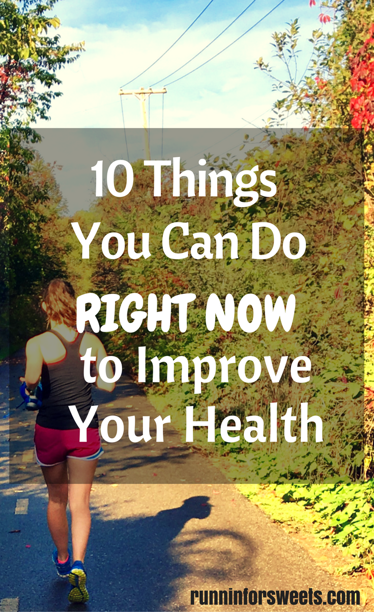 10 Things to do to Improve Your Health