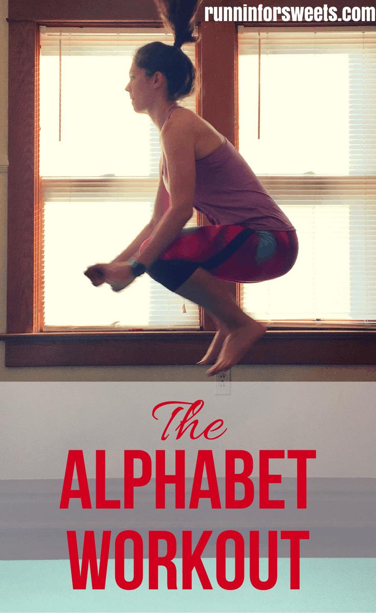 Alphabet Workout Ideas