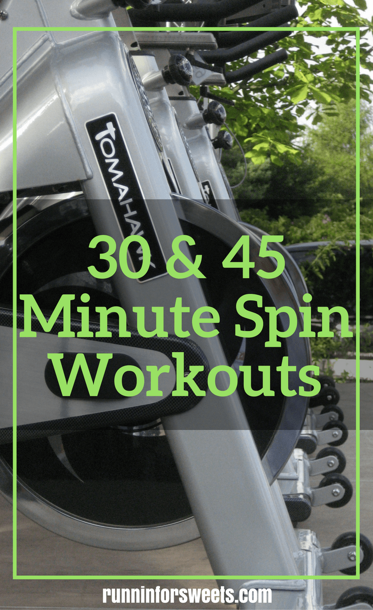 Workouts Runners will Love: 30 & 45 Minute Spin Workouts