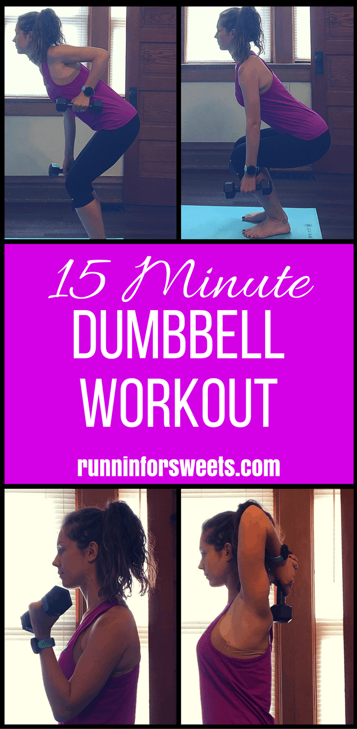 15 Minute Dumbbell Workout