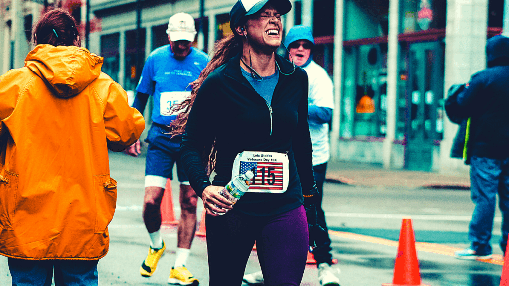Hitting the wall when running a marathon is nearly inevitable. Here are 10 ways to minimize the marathon wall and help you conquer your goals. Whether it's your first marathon or you're a seasoned pro, try these strategies for your best race yet. #marathonwall #hittingthewall