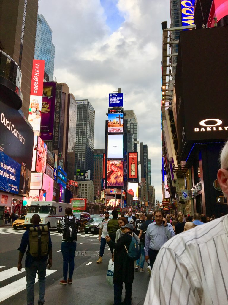NYC Marathon Times Square