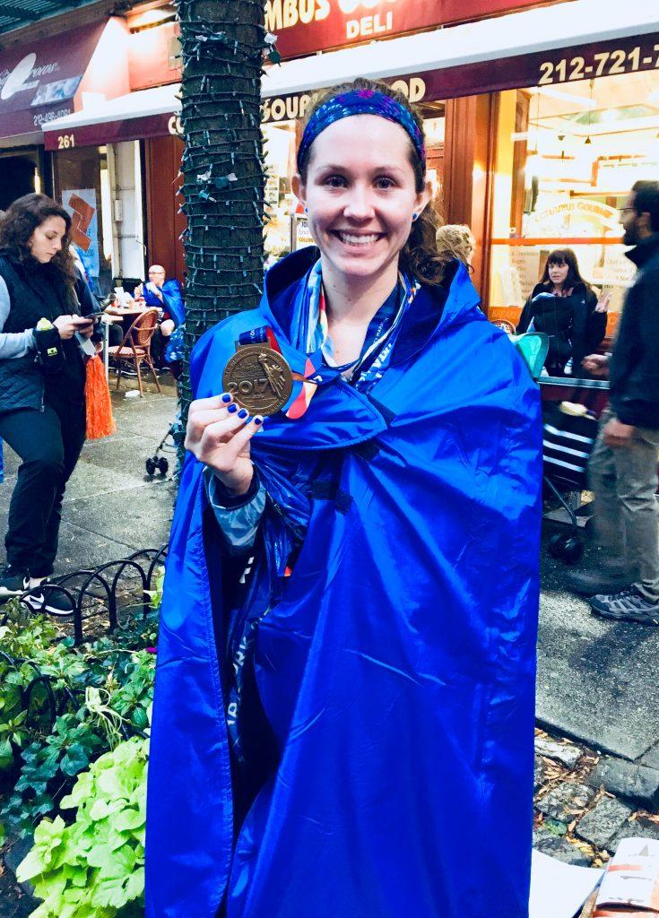 NYC Marathon Finisher