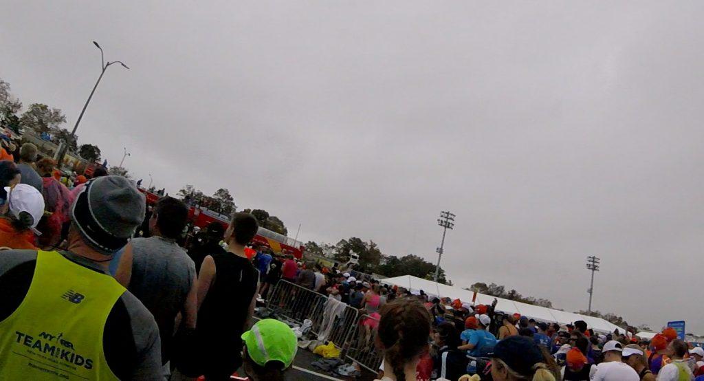 NYC Marathon Start