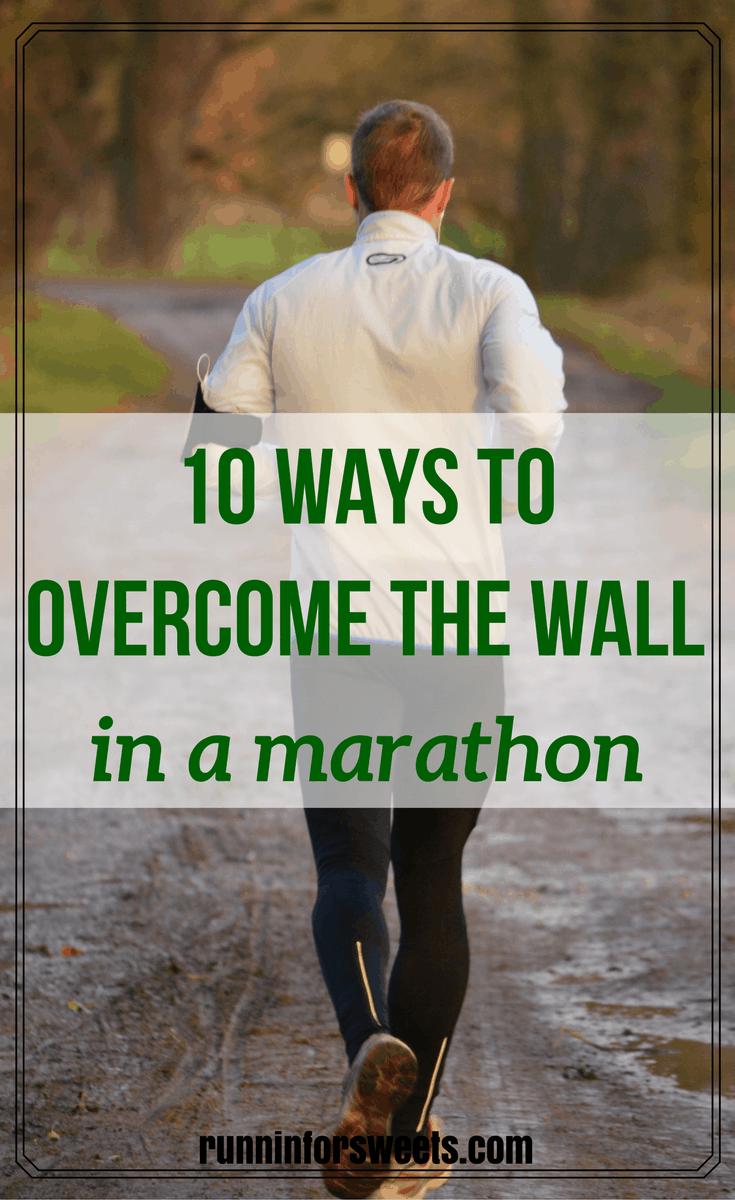 Overcome the Wall in Marathon