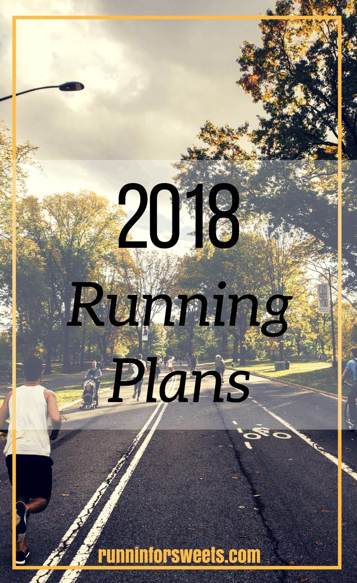 2018 Running Plans & Races