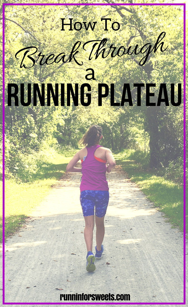 Facing a running plateau feels incredibly disheartening. These 5 running tips will help you push past that running plateau to improve your endurance, get faster and stay motivated. Check out these awesome running tips for beginners to get started and overcome the running slump. #runningplateau #runningtips #runningslump #runningmotivation