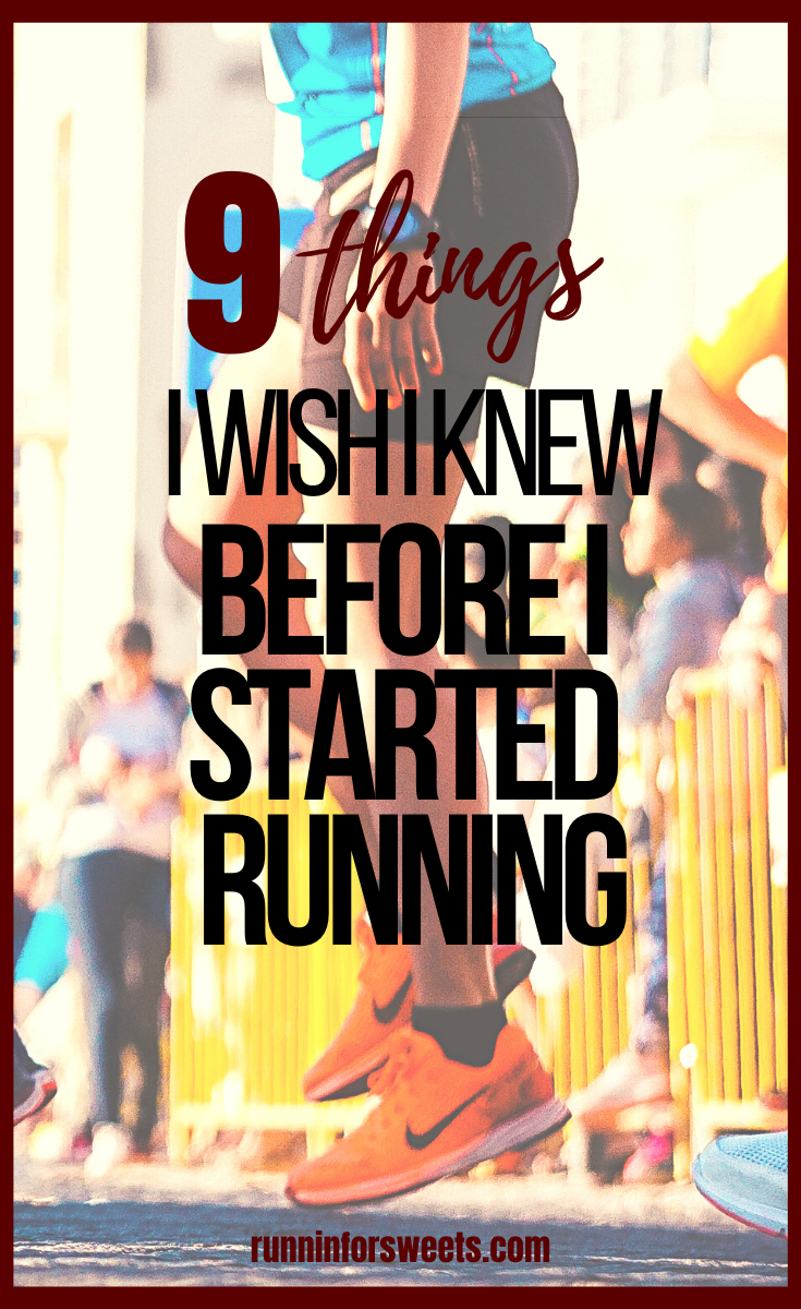 I wish I'd known these 9 things before I decided to start running. Here are some essential running tips for beginners to help you learn what to expect with training, motivation and more. #runningforbeginners #runningtips #beginnerrunner #startrunning