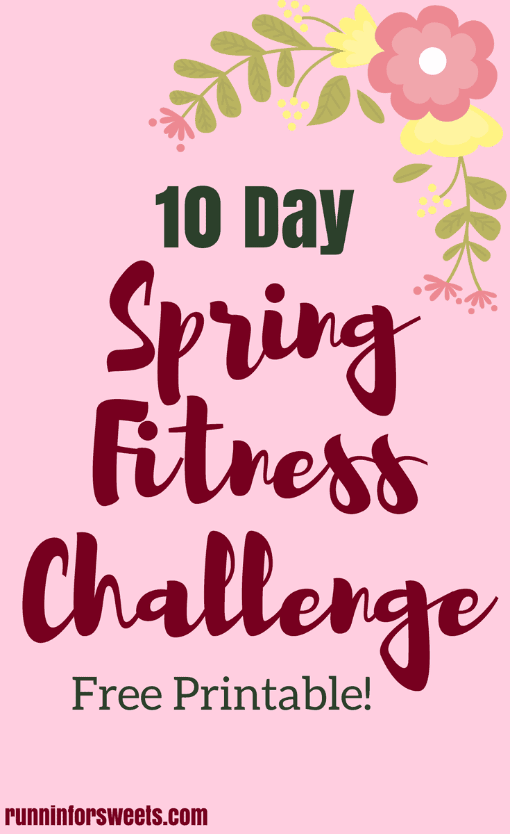 Looking for some spring fitness motivation? This spring fitness challenge is the ultimate way to reset and reinvigorate your work outs. Try the week workout spring fitness challenge, or change your exercise patterns for 21 days. This spring fitness challenge will give you plenty of ideas and fresh motivation to jump start your spring fitness.