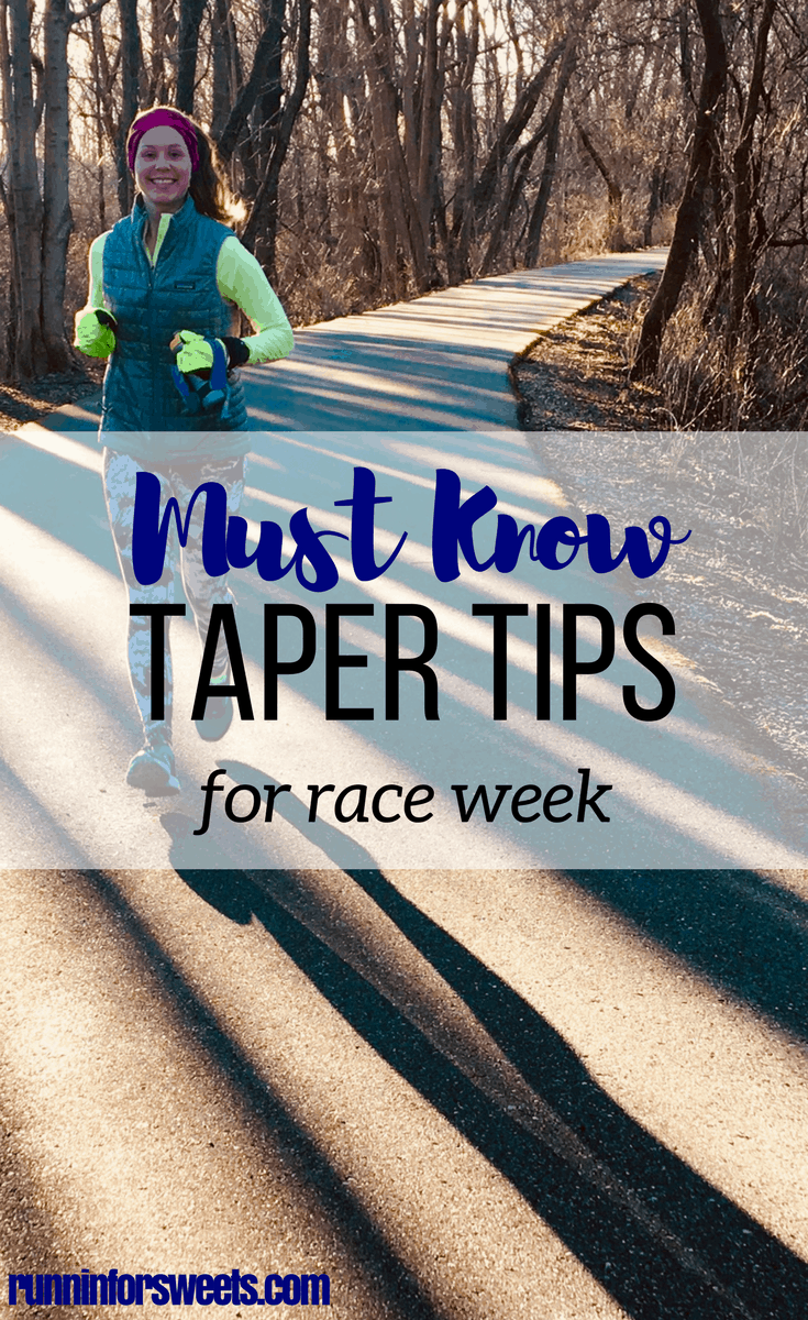 After all your training, don't let the nerves during race week ruin your race. Here are some life saving race week prep ideas and running taper tips you must know. Race week taper can be challenging, so here's what to know for your best race day ever. #runningtips #tapertips #raceweek