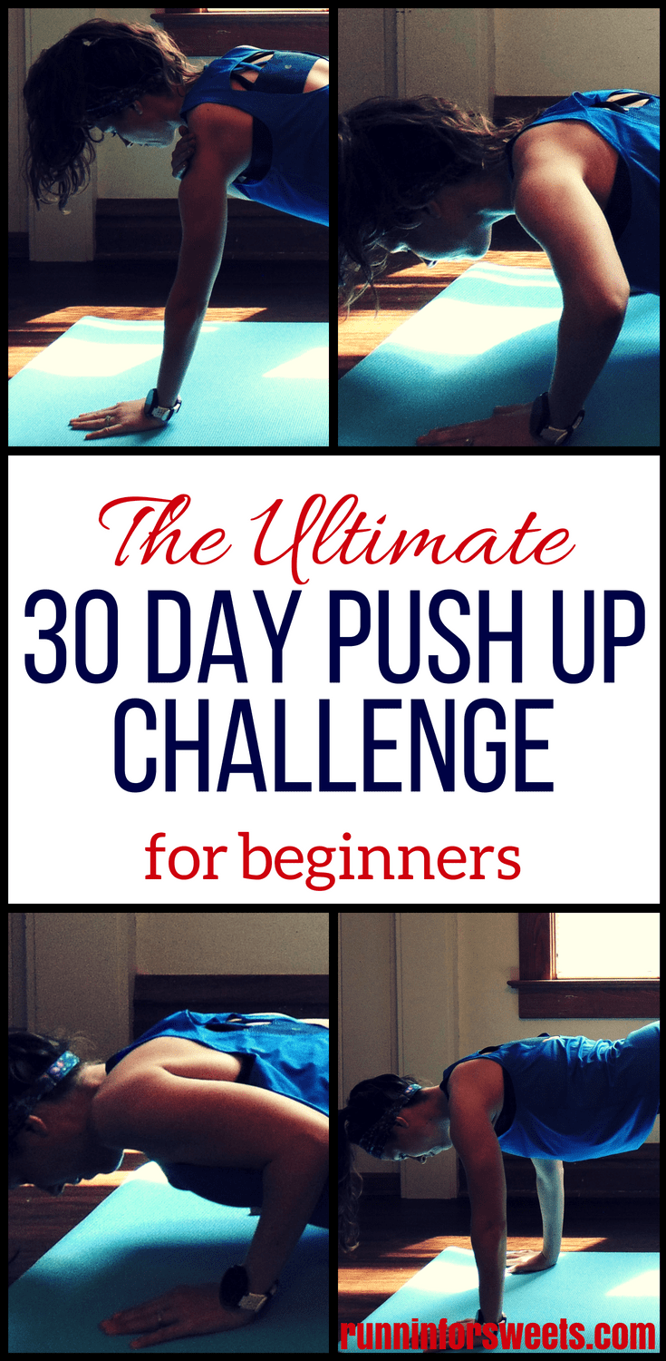 The Ultimate 30 Day Push Up Challenge for Beginners