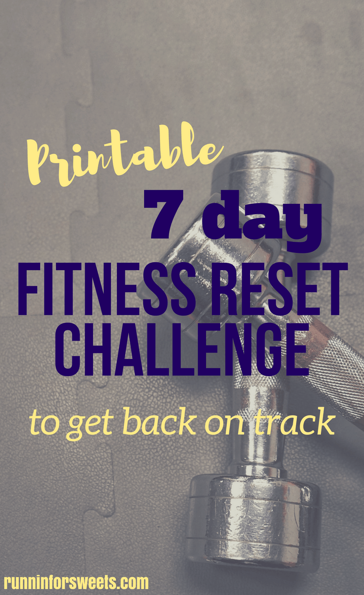 This full body health challenge will give you daily workouts, tips and fitness motivation to get back on track. Try the reset workout, and recharge your motivation with the weekly health challenge. Download it for free! #healthchallenge #resetworkout