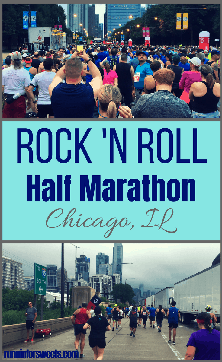 The Rock 'n Roll race series travels the country putting on races of all distances: from 5ks, 10ks, to half marathons and more. Here is everything you need to know to successfully navigate the Rock 'n Roll Half Marathon in Chicago. From training, to fueling the expo and travel tips - get ready for your best half marathon yet! #halfmarathon #chicago #destinationraces #runningraces