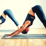 This yoga routine for runners is perfect for active recovery! Try this yoga sequence of 8 poses to recovery after a run or workout. #yogaforrunners #recoveryyoga