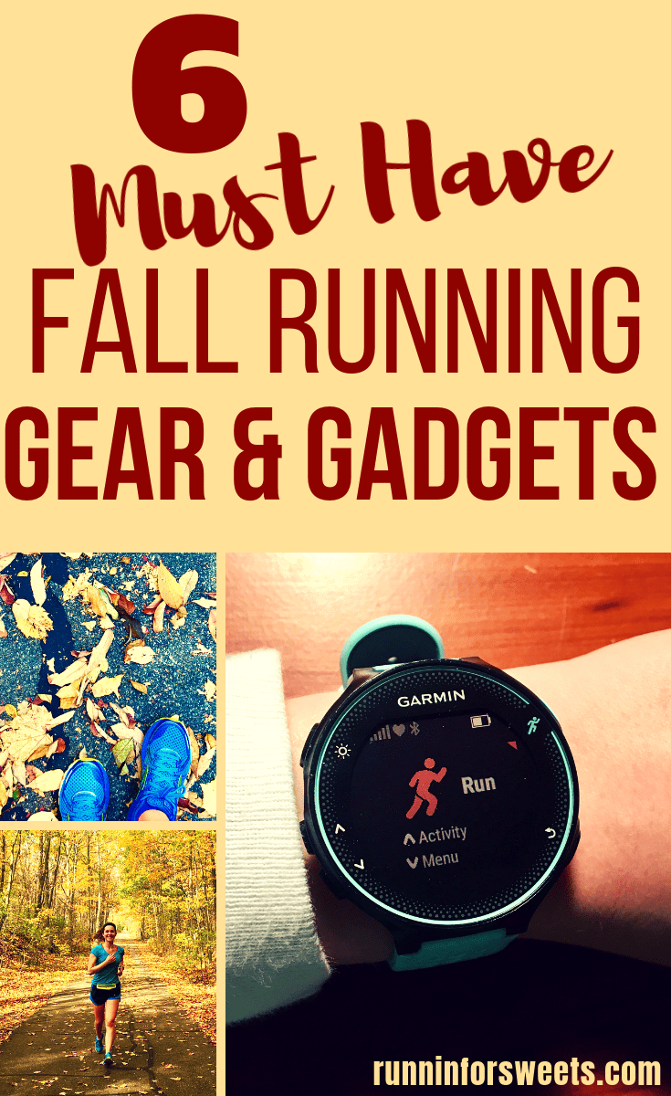 A comprehensive guide to all the must have fall running gear this season. These running accessories, gadgets and clothes are great ideas for runners as the cold weather approaches and seasons change. Check out these ideas for your best training season yet! #fallrunninggear #runninggear #runningaccessories