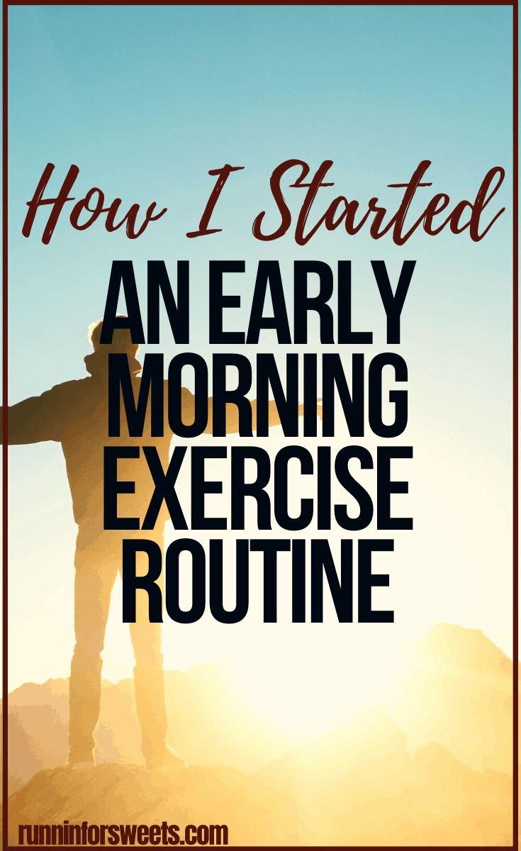 Starting a morning workout routine is no easy task. It took me years to find the motivation to stick to a 5 am morning routine. Here is the easy way I created an early morning exercise routine – and the simple way you can wake up and stay inspired to do it too. #morningworkout #morningexercise #morningroutine #earlymorning
