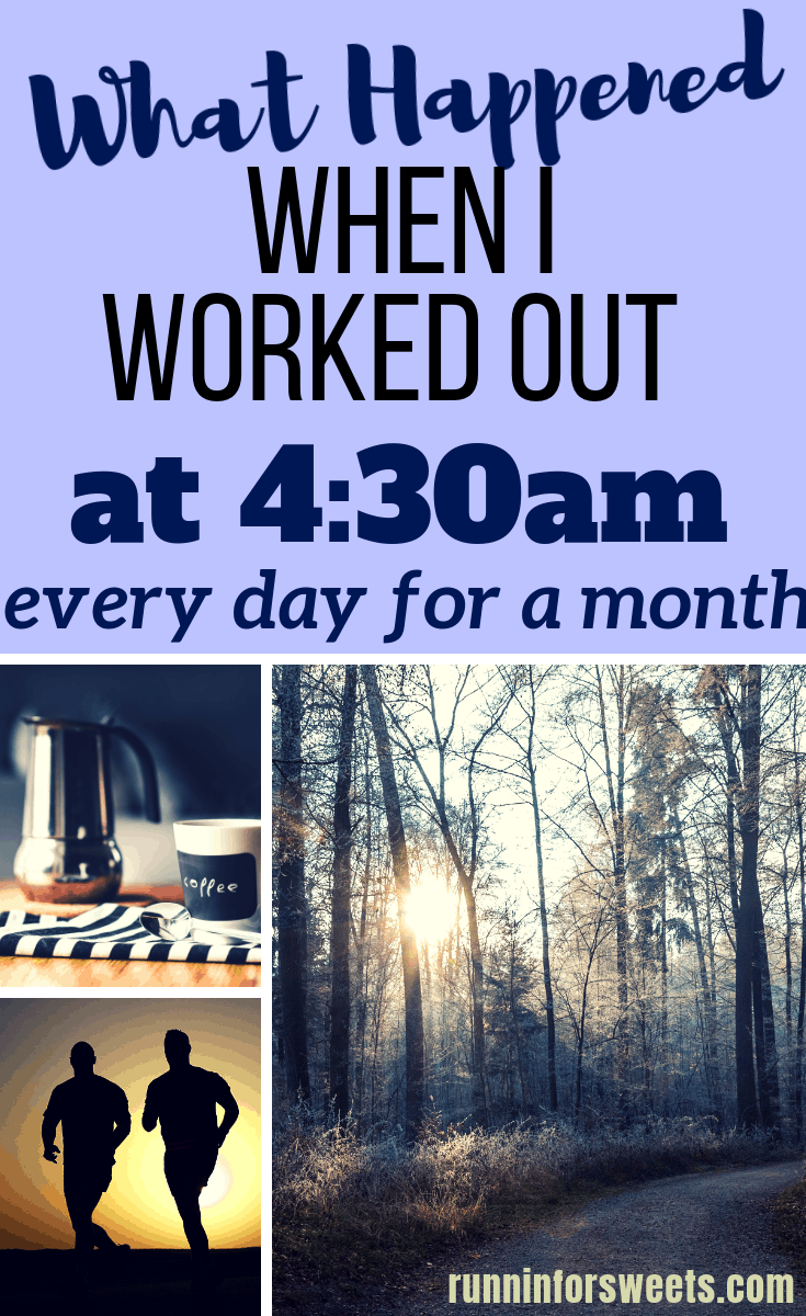 What Happened When I Workout Out Every Morning at 4:30am. Here is how to workout in the morning even if you hate waking up early.
