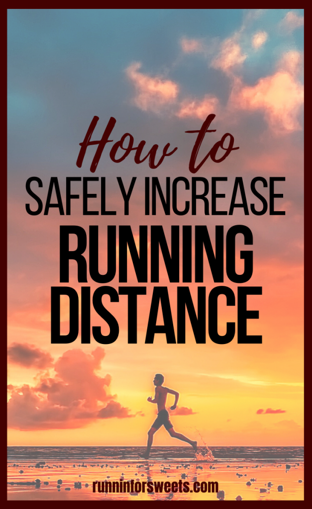 Learn how to increase running distance with these 4 simple tricks. Whether you're training for your first 5k or a marathon, these tips will help increase mileage in any training plan. #increaserunningdistance #runfarther #runlongdistance