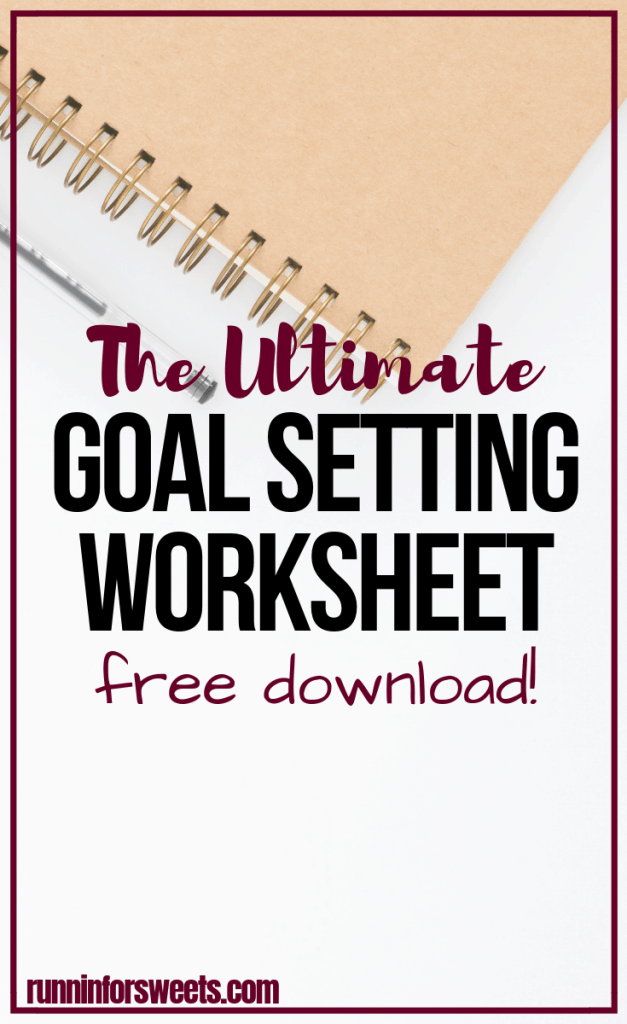 Download this free, printable goal setting worksheet to make your dreams a reality! This goal setting template is perfect for adults and students alike. Whether you're setting personal, fitness, or financial goals, this worksheet is the ultimate way to track your progress. #goalsetting #goalsettingworksheet #goalsettingprintable