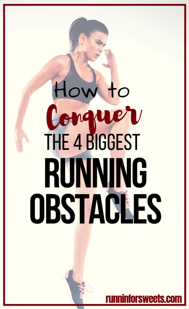 When you're a beginner runner, it can feel like you're constantly facing challenges with running. Between pain, motivation and finding the right gear, training feels like a struggle. Here are the 4 biggest running obstacles that you need to know about, and tips to conquer them so you can start running with ease. #runningtips #runningforbeginners #beginnerrunner