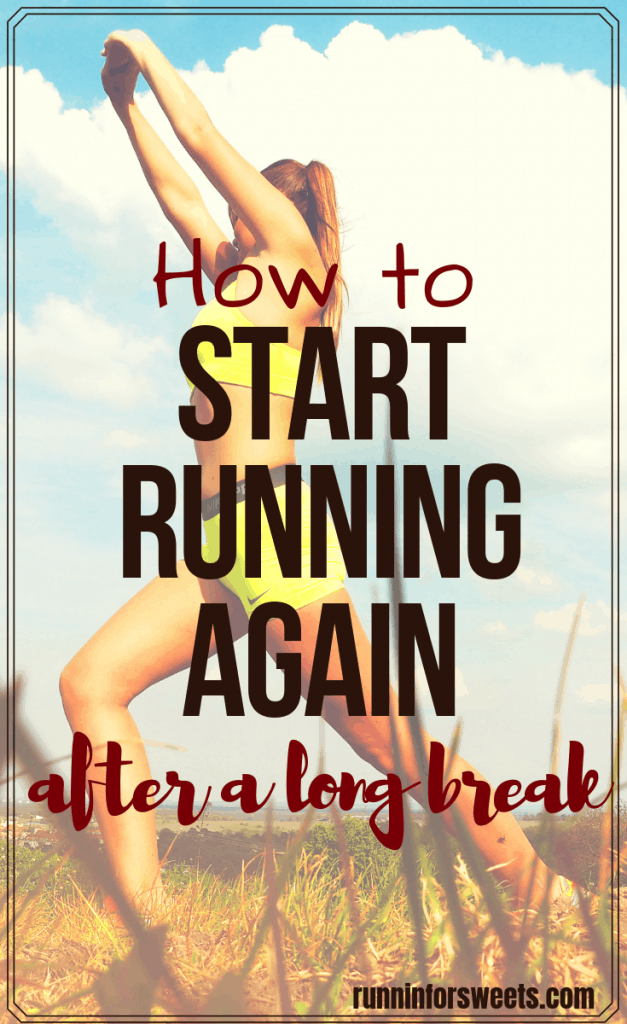 Trying to return to running after injury, illness, pregnancy, or a busy season is a frustrating process. These 5 tips will help you regain fitness and get back in shape with ease. Start running again after any long break – no matter how much time you took off from training. #returntorunning #startrunning #runningbreak