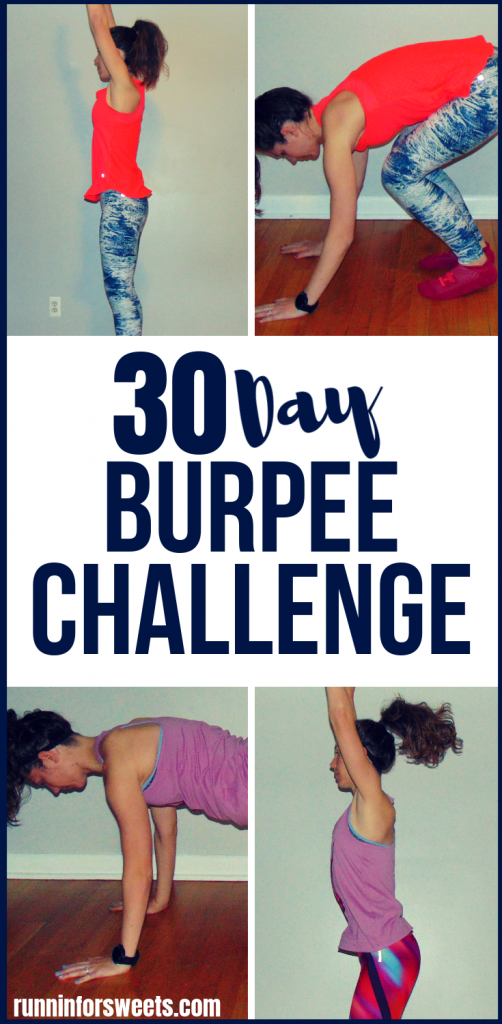 Download this free, 30 day burpee challenge printable! With a progression of beginner, intermediate and advanced level burpees, your full body will gain strength with this challenge. Commit to one of the most beneficial HIIT exercises for 30 days to quickly improve your fitness with burpees! #burpeechallenge #howtodoaburpee #beginnerburpees