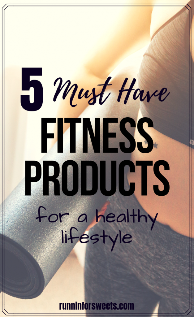 These 5 must have fitness products are essential for any healthy lifestyle! Here are some of the best health and fitness products, resources and gift ideas to help you maintain a fitness routine. Check them out for discount codes and sales you won't want to miss. #fitnessproducts #fitnessessentials #healthylifestyle