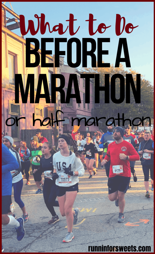 Check out these 10 pre race tips to prepare for your best race ever! Knowing what to do before a full marathon or half marathon is essential for beginners. After months of training, you'll arrive at the start with all the motivation, fuel and focus you need. #preracetips #marathontips #halfmarathontips