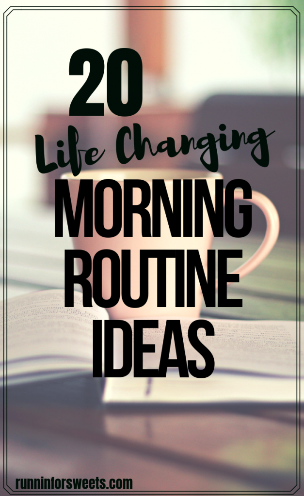 These 20 morning routine ideas encourage maximum success and productivity each day. Choose from this list of the ultimate self care ideas to create your ideal morning routine. Complete your daily routine as soon as you wake up to cultivate each day! #morningroutine #morningroutineideas #earlymorning