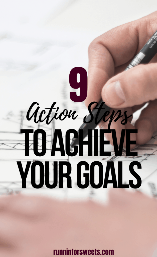 These 9 simple actions are crucial steps to take if you are hoping to achieve your goals. Check out these tips for successful goal setting, staying motivated and making your dreams a reality. Learn how to achieve your goals and change your life for the better! #achieveyourgoals #goalsetting #goaltips
