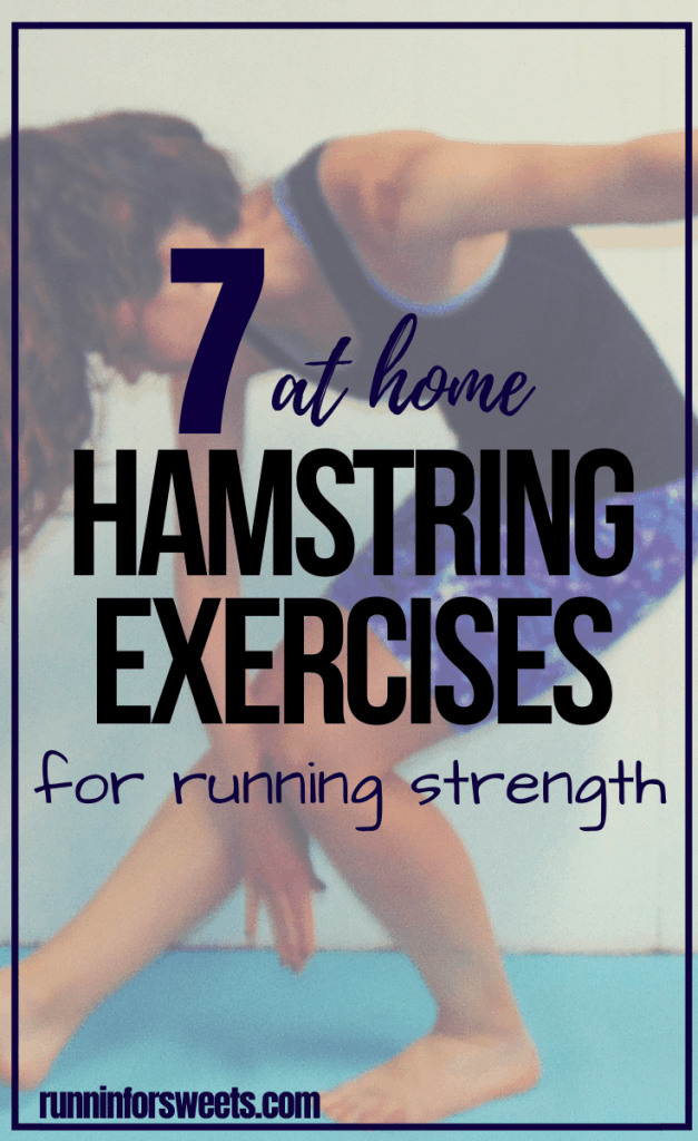 This 10 Minute Hamstring Workout is easy to complete at home. Complete these hamstring exercises as part of your strength training routine for rehab or injury prevention. Check out the 7 best hamstring exercises for runners! #hamstringworkout #hamstringexercises #strengthtraining