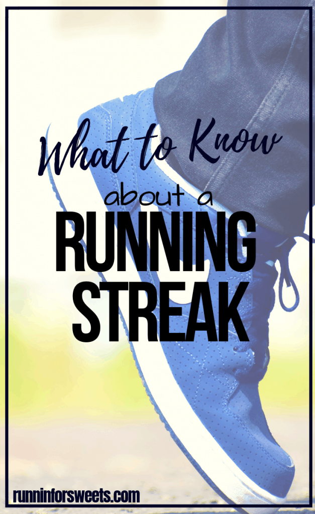 Try a running streak to set yourself up for fitness success! This 30 day running challenge is perfect for any runner – beginner, intermediate or advanced. Use the running streak goal tracker to log your miles and conquer your goals each day. #runningstreak #runningchallenge #runstreak