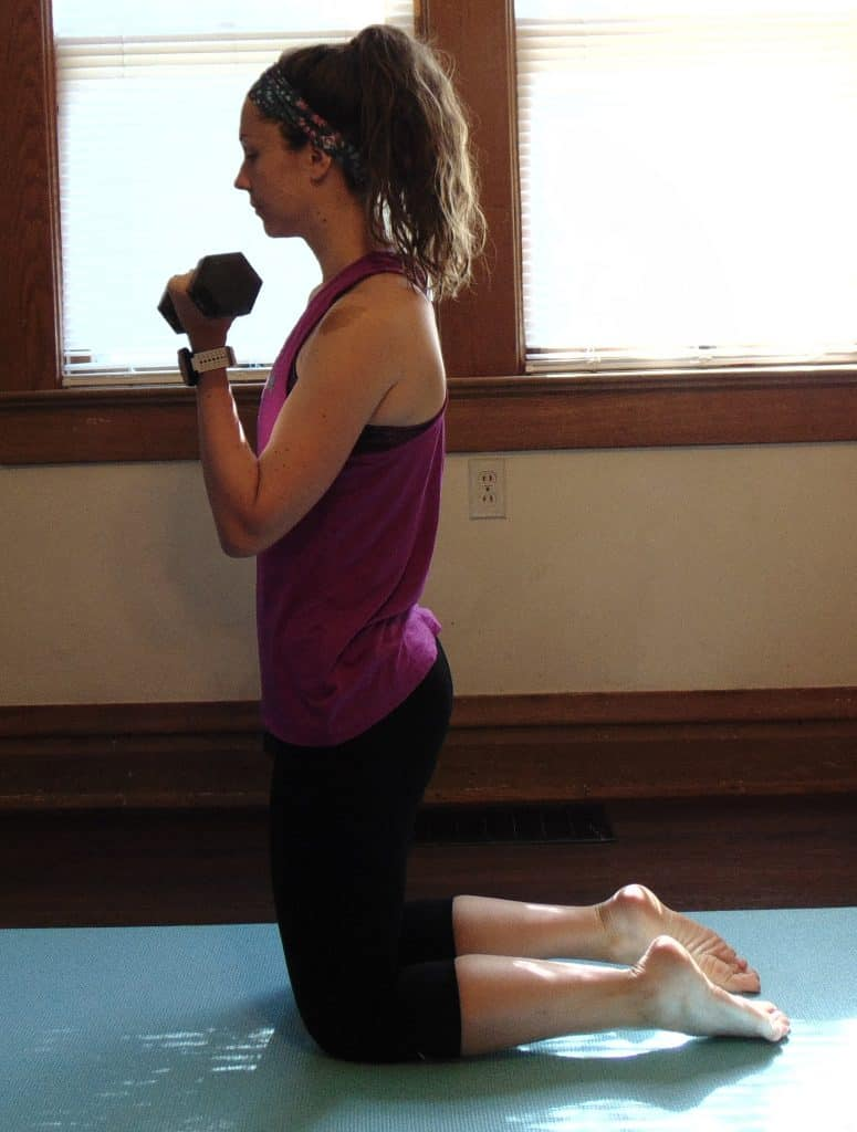 This at home strength training workout is perfect for runners! These strength exercises target the full body to create the ultimate routine – with no equipment needed. Try this epic strength training workout once a week to build muscle and stay strong on the run! #strengthtraining #strengthexercises #strengthworkout