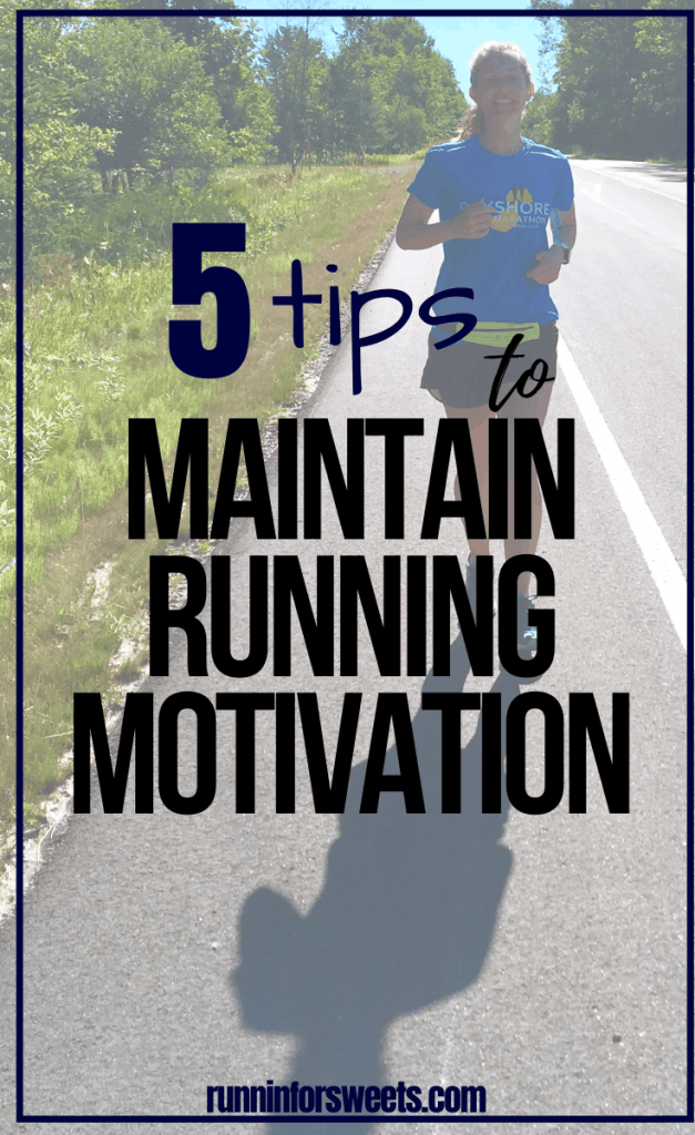 Learning to overcome low running motivation can be challenging. These 5 tips will help you stay motivated to run, conquer excuses and quickly get your running mojo back. Maintain running for life with these simple tweaks. #runningmotivation #runningmojo #staymotivated