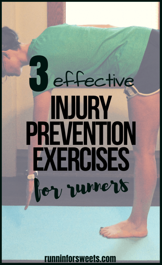 Check out the top 3 injury prevention exercises for runners! Add these exercises to your regular strength training workout routine to avoid running injuries altogether. Injury recovery can be frustrating and time-consuming, but preventing running injuries altogether can help you stay strong and limber throughout training. #injurypreventionexercises #runninginjuries #injuryprevention