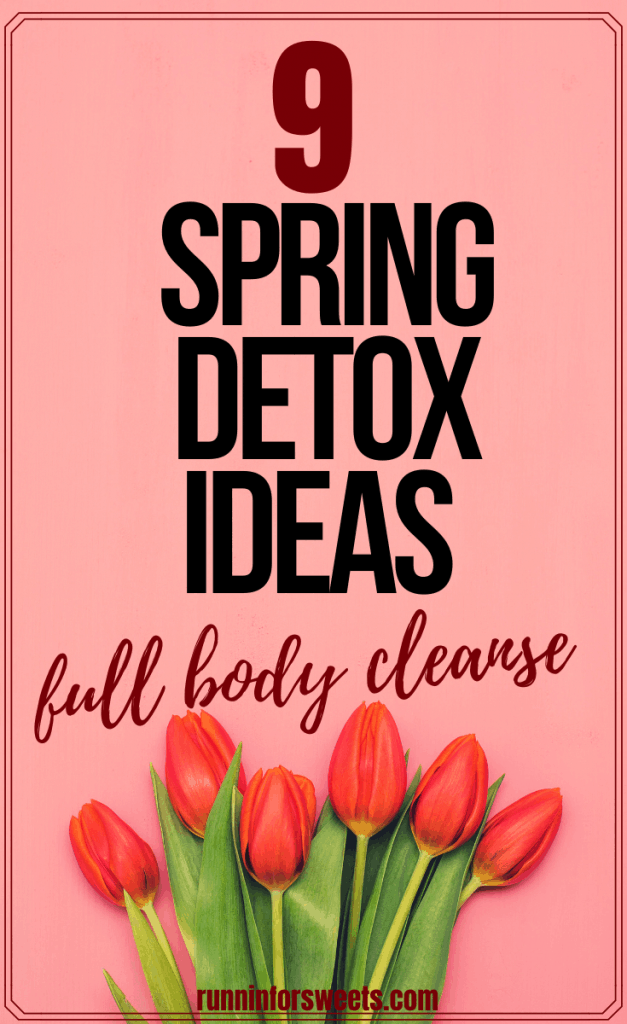 This spring detox plan is the ultimate way to cleanse your life this season. As daylight increases and sunshine returns, try these 9 simple ways to detox your body and improve your health this spring. #springdetox #healthdetox #springcleanse