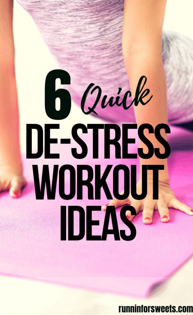 The 6 quick workouts are perfect for the days stuck at home. Check out these full body workouts you can complete at night, in the morning or during the day. Build muscle and de stress in no time with these quick workouts! #quickworkout #destressworkout #athomeworkout