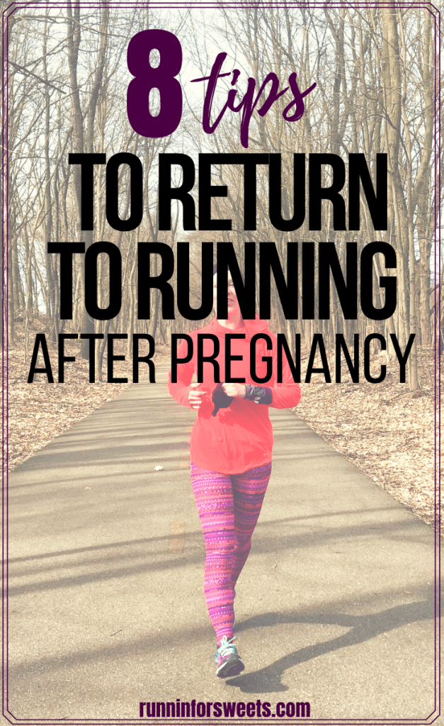 Here is the ultimate postpartum running plan: everything you need to know to safely return to running after pregnancy. Check out these 8 postnatal recovery tips to start a healthy workout schedule. #postpartumrunning #returntorunning #postnatalrecovery