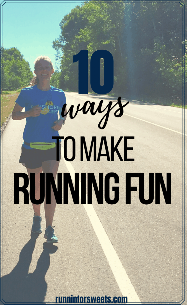 Check out these 10 ideas to quickly make running fun! Whether you hate running or are just struggling with boredom on the run, you'll love these fun running ideas. Learn how to make running easier and more enjoyable! #makerunningfun #makerunningeasier #runningtips