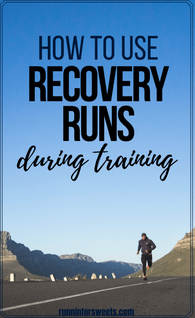 The recovery run has many benefits during training, especially post-long run, after a half marathon or after speed workouts. Check out what a recovery run is, the benefits, and a plan to include running recovery in your training. #recoveryrun #runningrecovery #easyrun