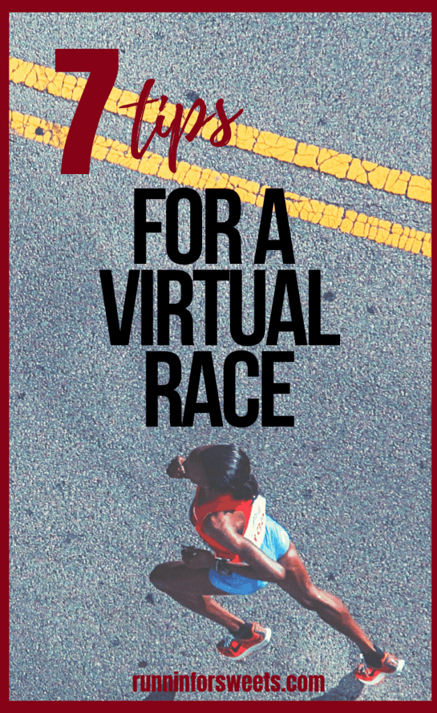 Virtual races are a great way to stay motivated to train for the rest of 2020. Here is what you need to know about virtual running, along with some of the best ideas and tips for virtual runs this season. #virtualrun #virtualrace #virtualrunning