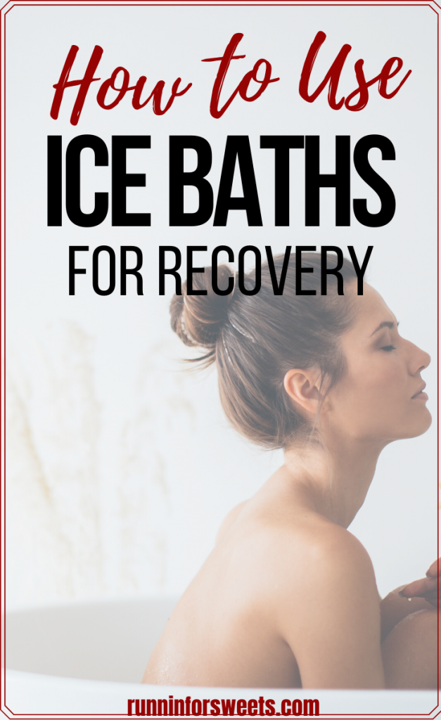 There are many recovery benefits of ice baths. From relieving sore muscles to reducing inflammation, ice baths are a beneficial tool for running recovery. Here are 4 ice bath basics for runners to try post long run for maximum recovery. #longrunrecovery #icebaths