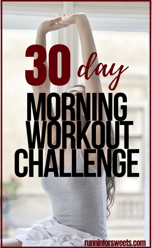 Try this 30 Day Morning Workout Challenge right at home! Wake up early and burn fat with these full body exercises. Each morning workout is quick and simple. See if you can complete the challenge! #morningworkoutchallenge #morningworkout #morningexercise
