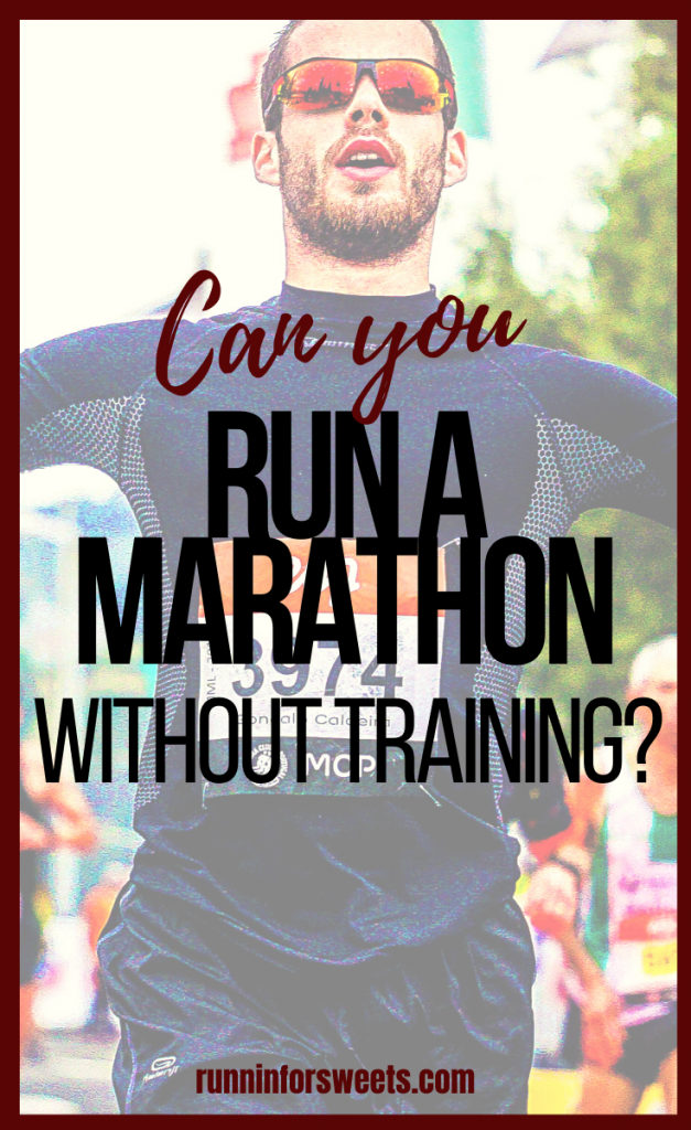 Many full marathon training schedules can feel overwhelming for beginners. If you find that life got in the way and you've completed limited training for your marathon, the best tip is to play it safe on race day. Here are 7 strategies for running a marathon with no training. #marathontraining #trainingforamarathon #beginnermarathon