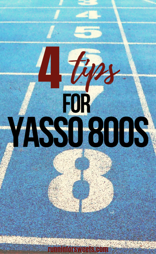 Yasso 800s are one of the best running workouts for long distance running. Use this interval workout outdoors, on the track, or on the treadmill to increase your speed. This running workout is perfect for beginners to advanced runners alike! #runningworkout #yasso800s #intervalworkout