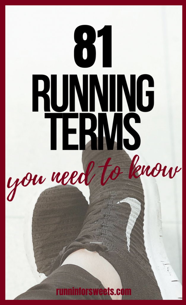 Understanding the meaning of these 81 running words, phrases and abbreviations will help make sense of your training and race day events. Learn the running lingo and stay motivated as a runner! #runningwords #runningphrases #runninglingo