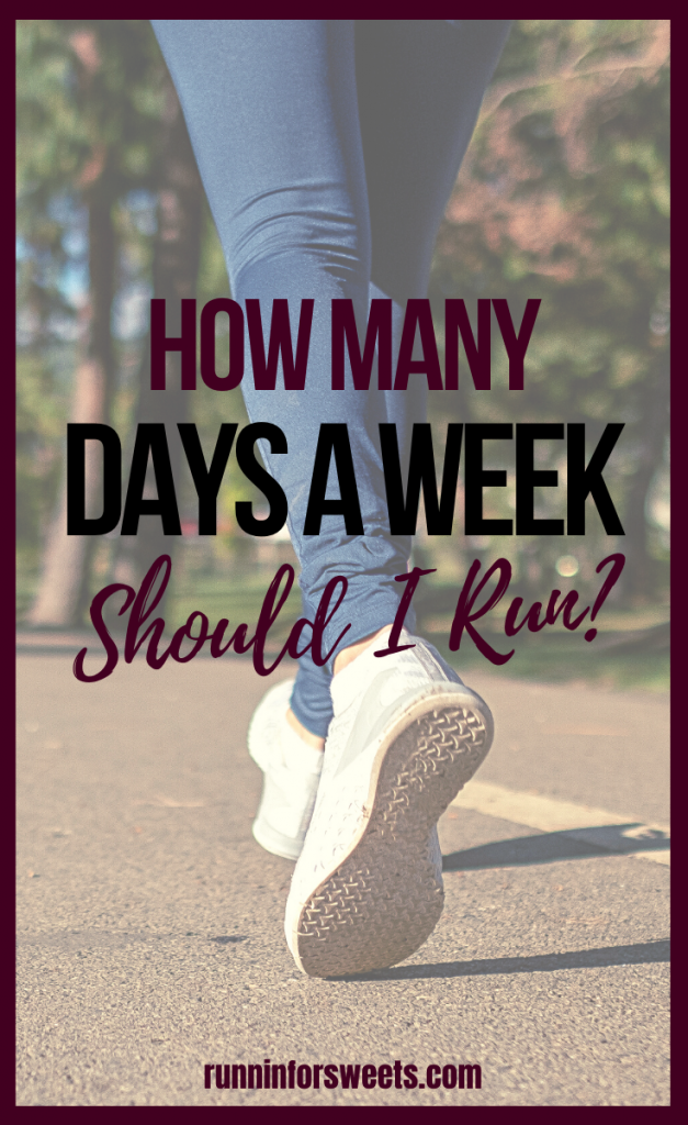 Most runners find themselves wondering how often to run. Whether you're hoping to losing weight, stay healthy or train for a race goal – here is how often you should run each week for optimal benefits. #howoftentorun #runningfrequency #howmuchtorun