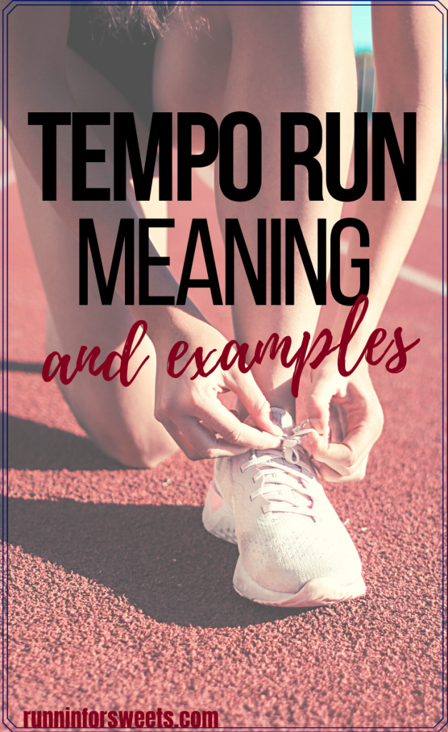 Here's everything you need to know for a successful tempo run workout! Learn how to do a tempo run, calculate your tempo pace, and check in on your heart rate. Plus two tempo run examples to get your started and increase your running speed! #temporun #runningworkouts #tempoworkout