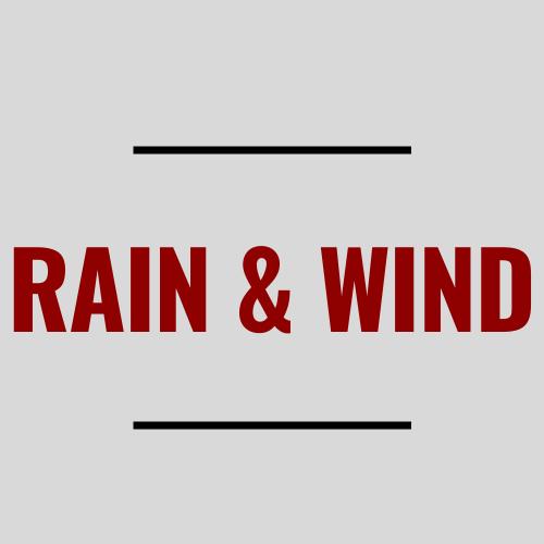 Rain and Wind Running Gear