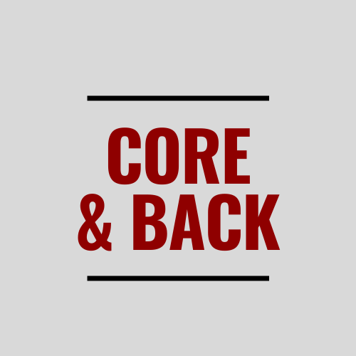 Core and Back Workout Ideas
